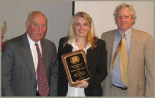 Featured in photo COI Board members Dr.York & Peter Dulligan with Svetlana Repic-Qira