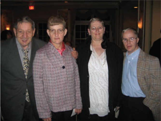 Featured in photo from left to right: Kenny Fiore, Terry Morrison, Nancy Seiler, Sean O'Boyle