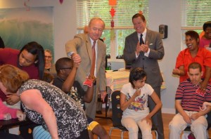 Congressman Frelinghuysen visits our Red Ribbon Academy