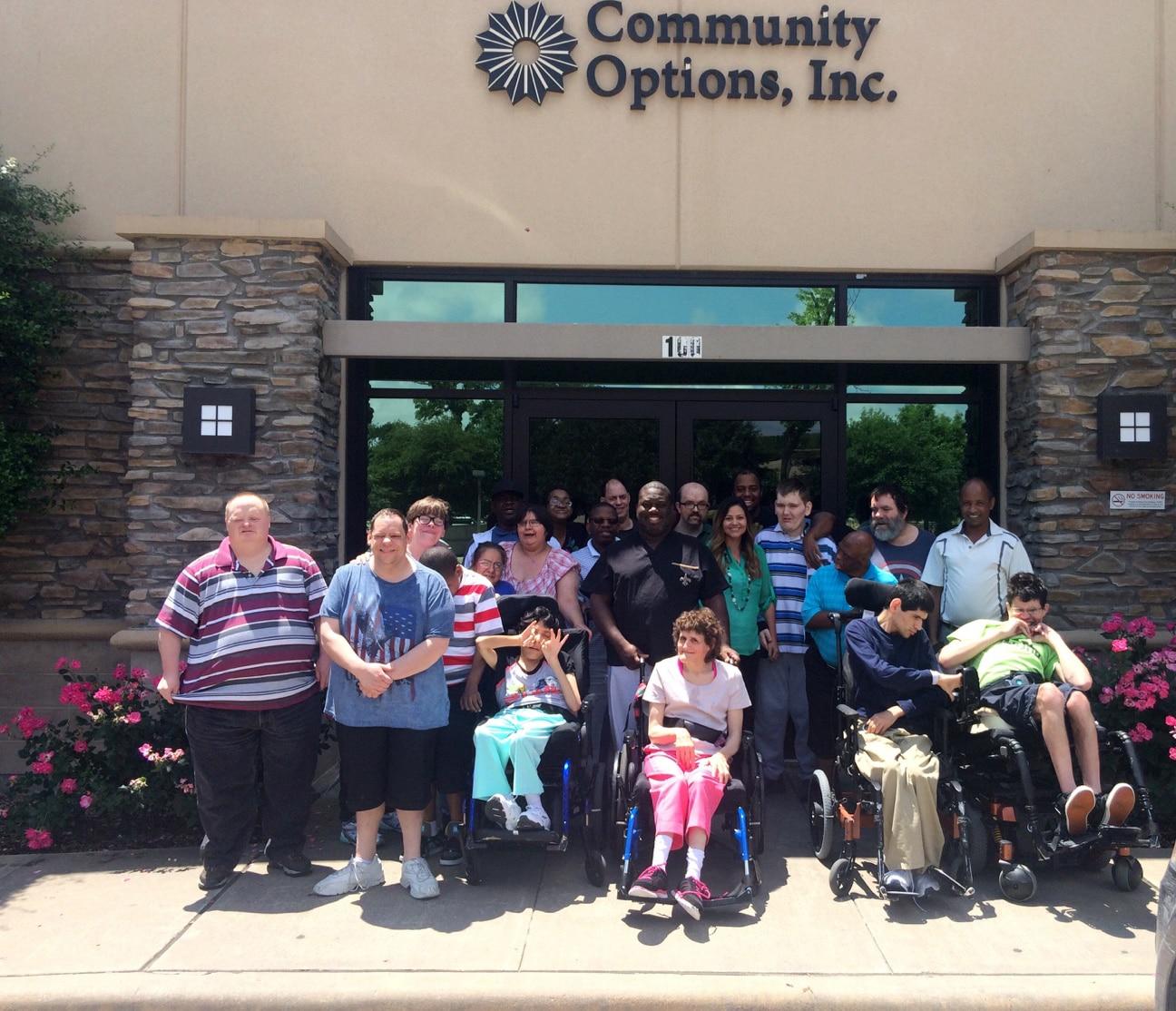 Community Options, Inc. of Dallas, TX.