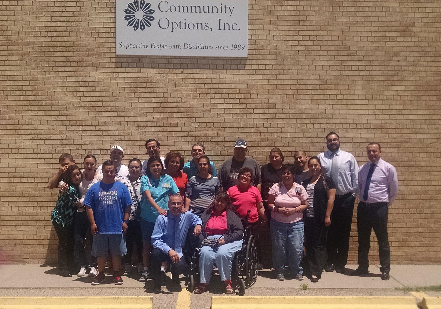 Community Options, Inc. of El Paso, TX.