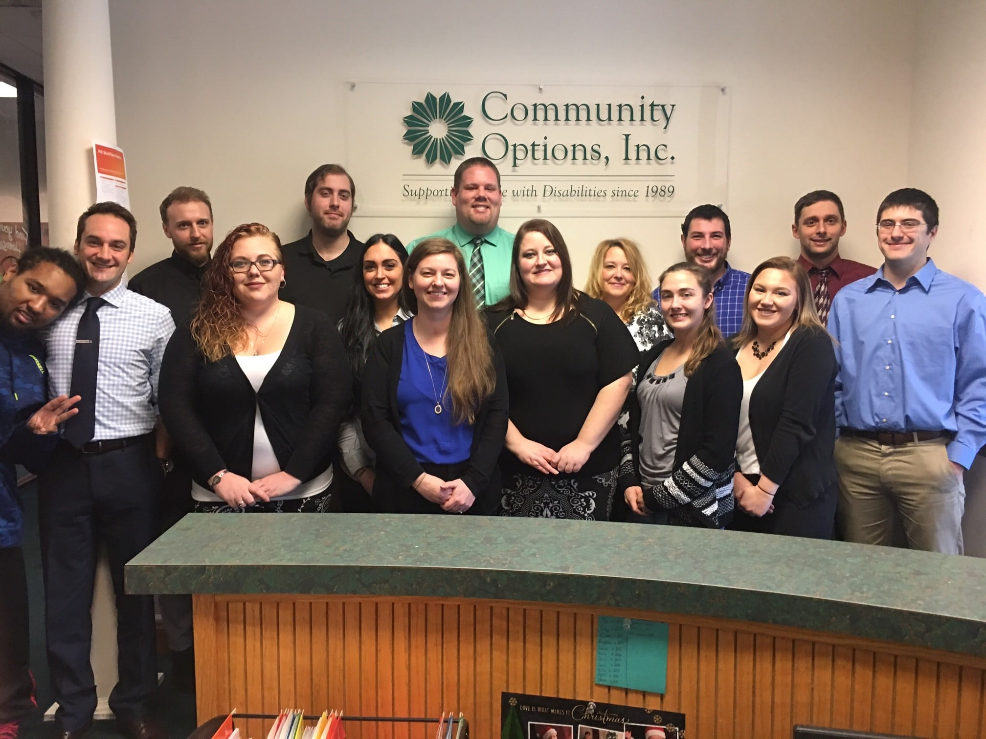 Community Options, Inc. of Westmoreland County, PA.