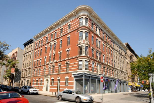 Residents of a Luxe Harlem Building