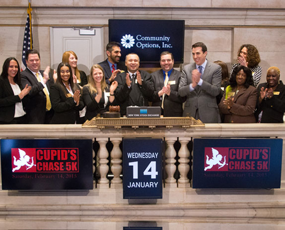 PRINCETON, NJ – (January 15, 2015) The New York Stock Exchange, noted for its Opening Bell, has hosted celebrities, politicians and foreign diplomats. On January 14, 2015, Robert McCarthy, a man with significant intellectual and other disabilities, rang the Bell.