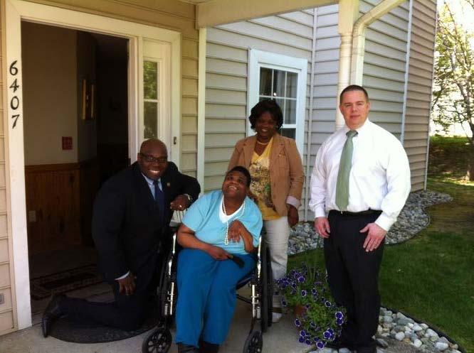 Assemblyman visits Burlington County Group Homes