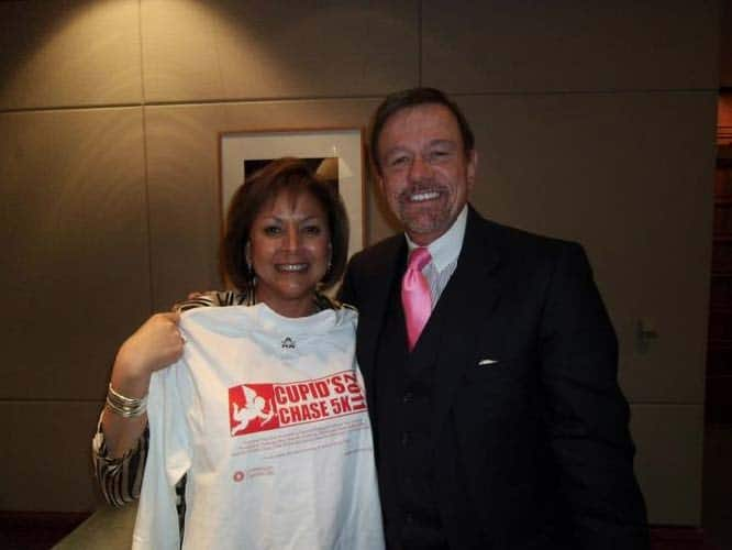 Governor Susana Martinez of New Mexico with Robert Stack, President and CEO of Community Options