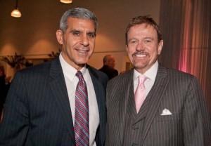 Senator Joseph Kyrillos and Robert Stack