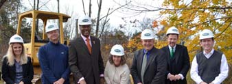 Groundbreaking for New Group Home in Hopewell a Success