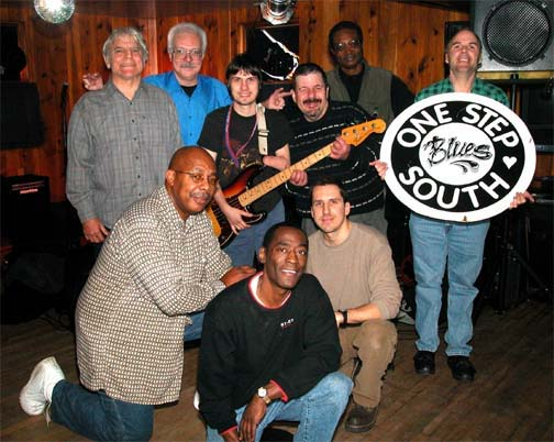 One Step South Blues Band performed at the Smokehouse Restaurant