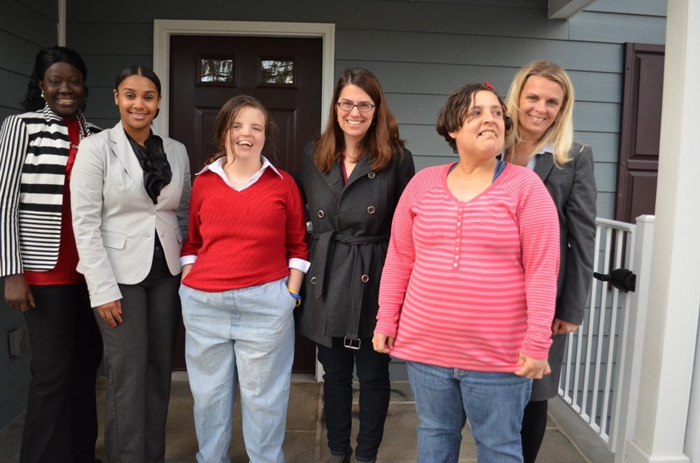 Princeton Mayor Liz Lempert Visits Home Donated to Community Options