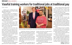 NJBIZ Vaseful training workers for traditional jobs at traditional pay