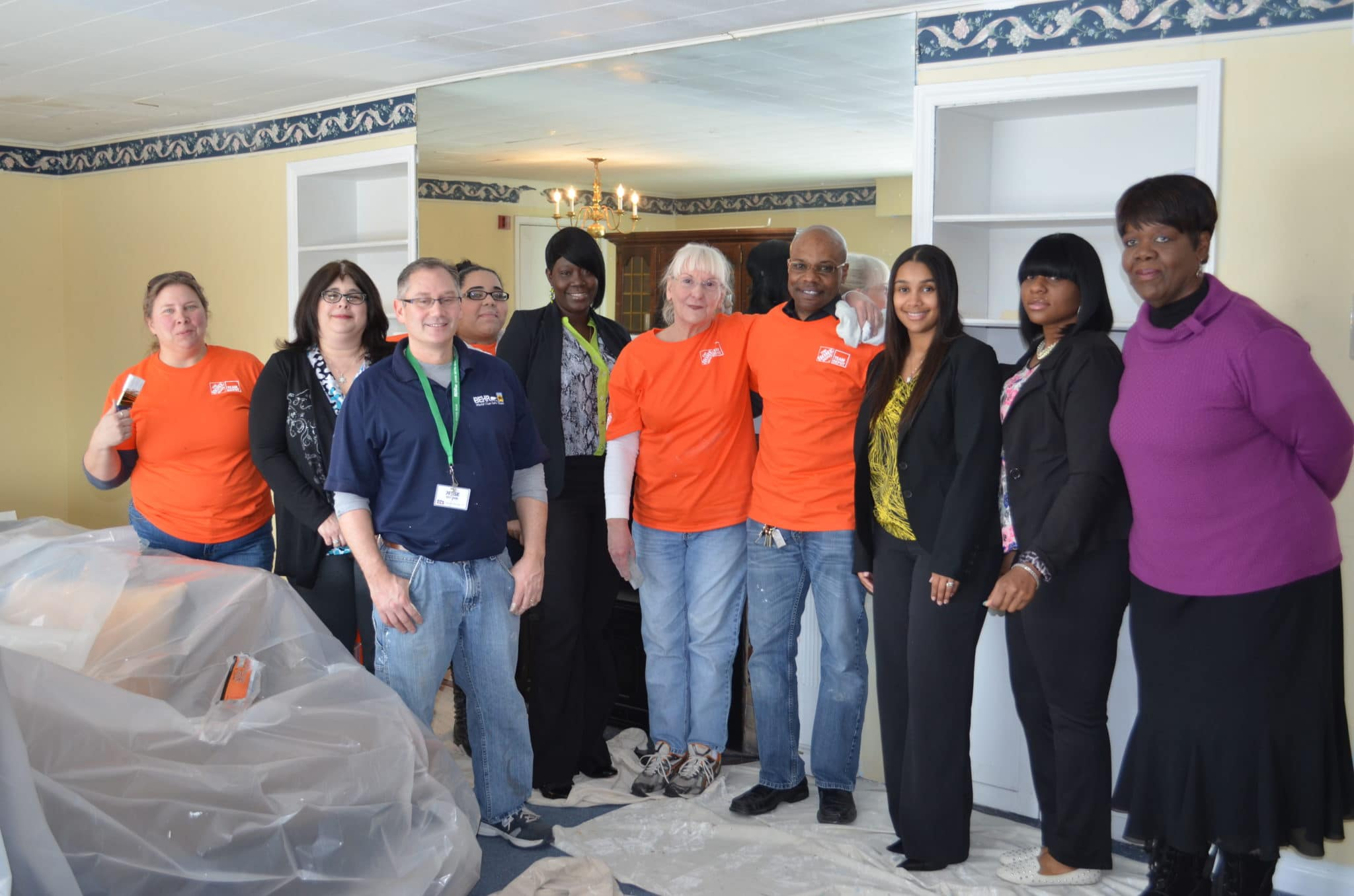 Home Depot To Repair Group Home In Ewing For People With