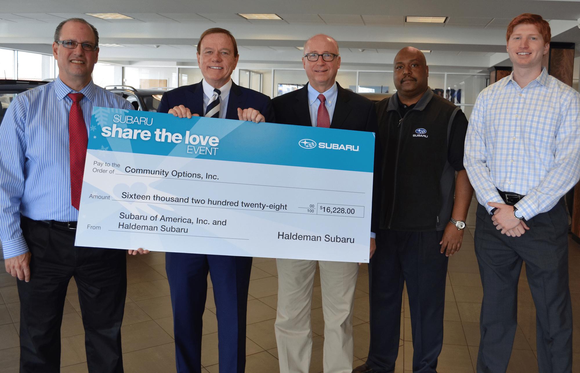 Haldeman Subaru of Hamilton Donates $16,000 To Support ...