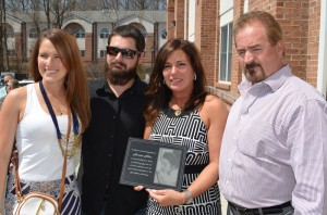 Katelyn Allen, Bryce Allen,Vicki Allen and Daniel Allen; the family of Marisa Dara Allen, who the Founding Student Award was created in honor of. Celebrating Two Years of Making a Difference - Community Options' Red Ribbon Medical Day Program