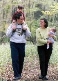 Congressman Ferguson with his family