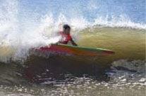 I went surfing!
