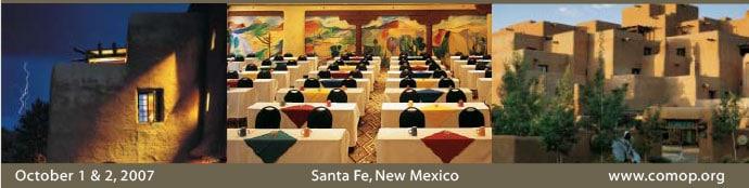Imatter conference in Santa Fe, NM