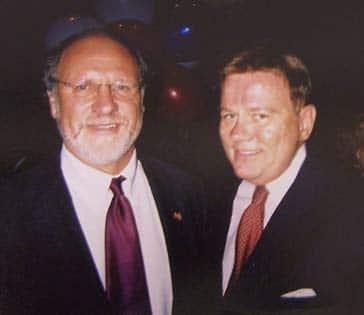 Senator Jon Corzine Supports Community Options. Senator Jon Corzine & Robert Stack, President/CEO of Community Options, Inc.