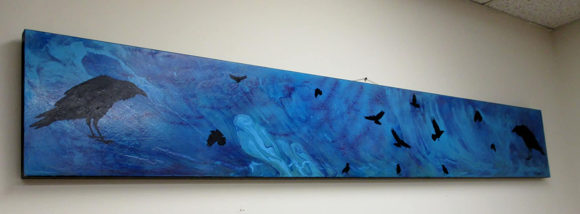Community Options would like to thank David Culbertson for generously donating paintings to the Santa Fe day program.