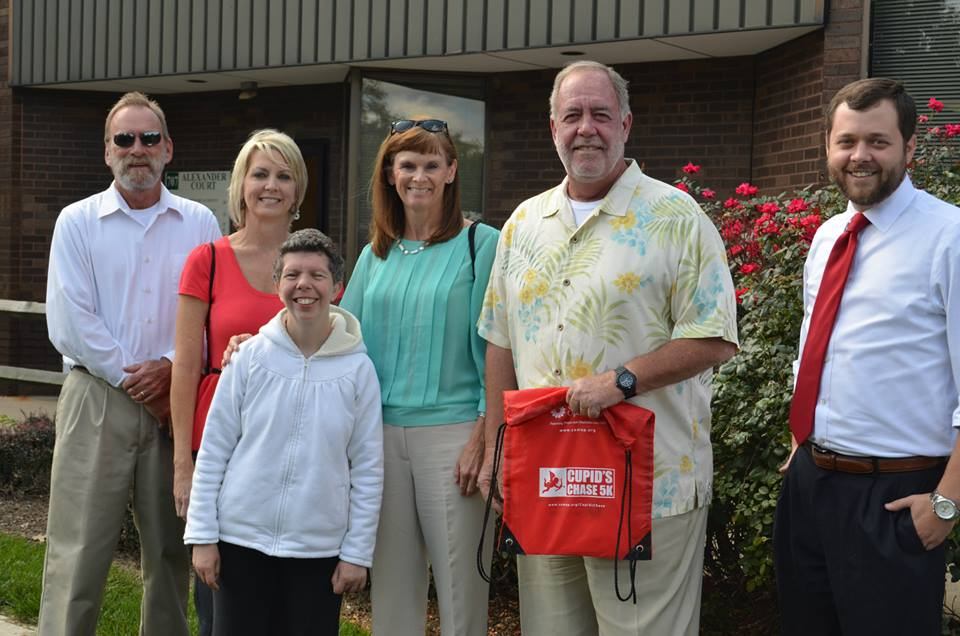 Featured in photo: David (Matt) Armstrong, Director Intellectual and Developmental Disabilities Bureau, Jerry Avery, Director of Dept of Mental Health, Bureau of Alcohol and Drug Screening, Katie Terzian, associate, Daily Plan It Princeton, Ashley Lacoste, Director of Home and Community Based Services & Ed LeGrand, Executive Director, Mississippi Department of Mental Health & Steven Verba, Managing Director for Community Options Enterprises.