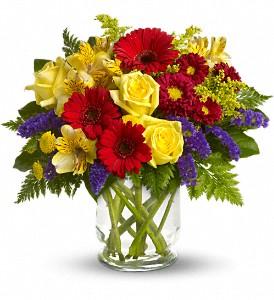 Vaseful flowers