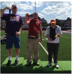 Community Options, Inc. congratulates three men we support for their accomplishments in the Spring Games Special Olympics in Cookeville, TN.