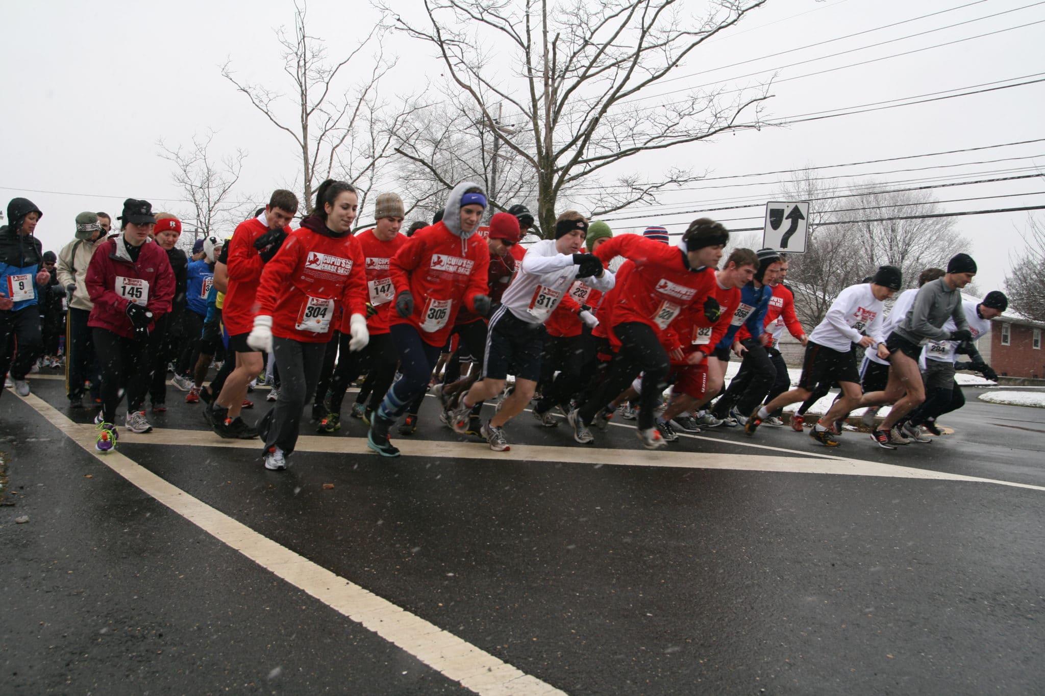 Start of the the Princeton, NJ run.