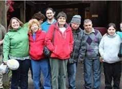 Community Options Day Habilitation participants from Binghamton, NY at the Ross Park Zoo