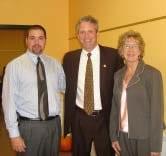 Mayor of Binghamton Matt Ryan announced the open house at the Binghamton office with Regional Vice President Todd Hansen and Executive Director Darlene Leonard.