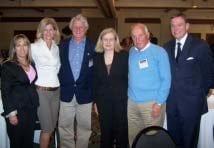 Michelle Lujan Grisham, Esq., Kim and Peter Dulligan, Dr. Colleen Wieck, Dr. York, and Robert Stack, President/ CEO, gather during the Opening Sessions at the imatter conference in Santa Fe, NM.