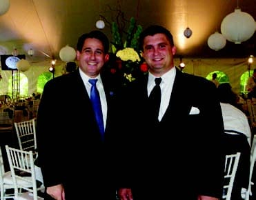 Featured in photo: New Jersey Labor Commissioner David J. Socolow & Christopher Dixon