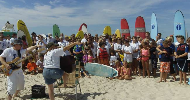 Community Options held its 4th Annual iMatter Surf Camp for Children with Autism