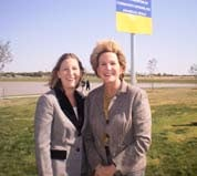 Chandy Davis, Executive Director Amarillo & Mayor Debra McCartt