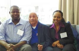 Support Staff with Al Valdez (center) enjoying time in Dallas
