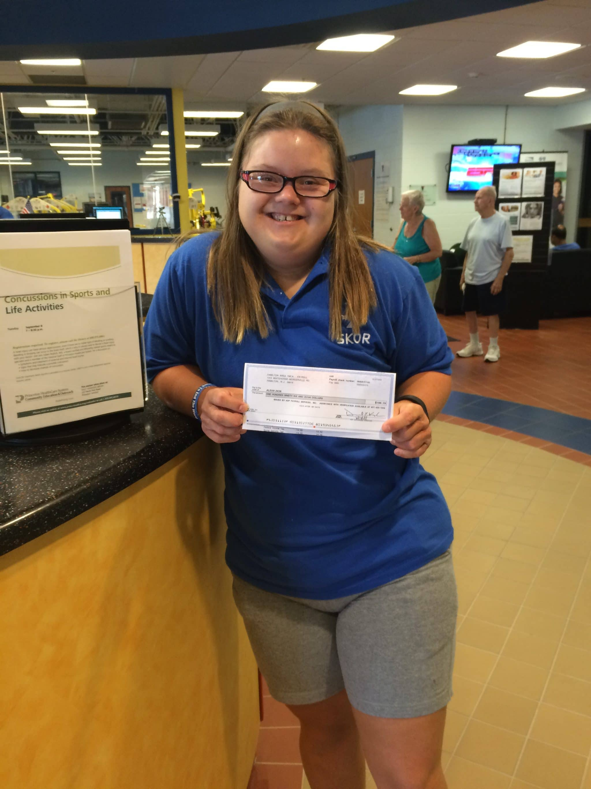 """""""I work with the best people who are helping me reach my goals."""" Alexa A. Step participant"""