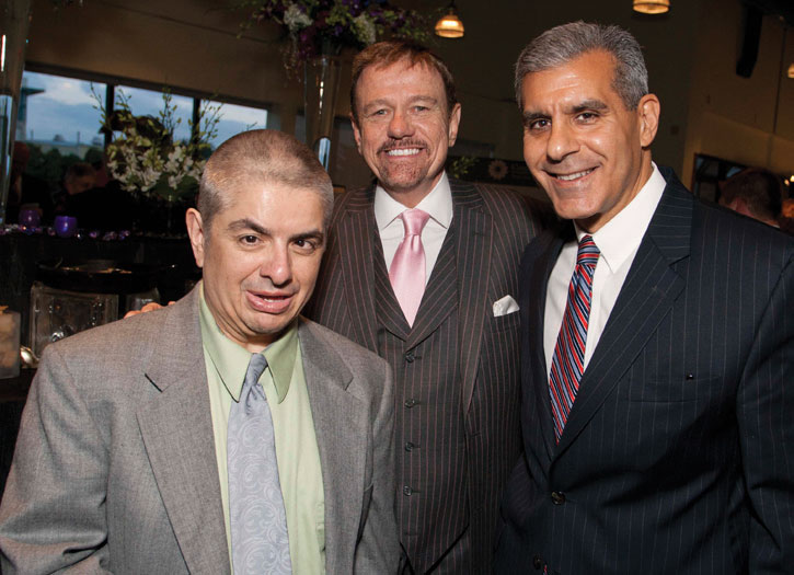Bernard Krakowsky, Robert Stack & Senator Joseph Kyrillos at Community Options Spring Event.