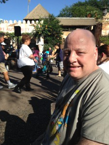 Mike enjoyed Walt Disney World so much that he is saving for another trip.
