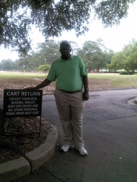 Clarence was hired May 13, 2016 at the Fort Jackson Golf Club