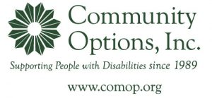 Community Options, Inc. Supporting people with disabilities since 1989 comop.org logo