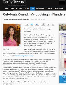 Celebrate Grandma's cooking in Flanders