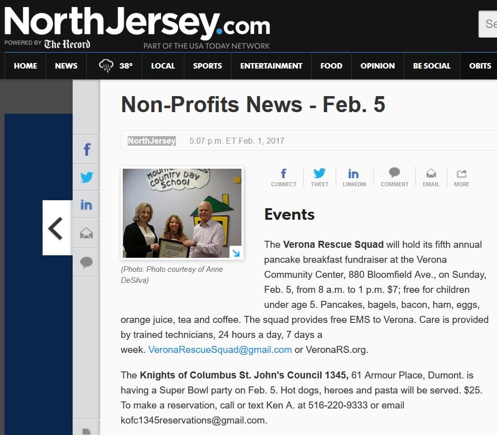 Non-Profits News - Feb. 5
