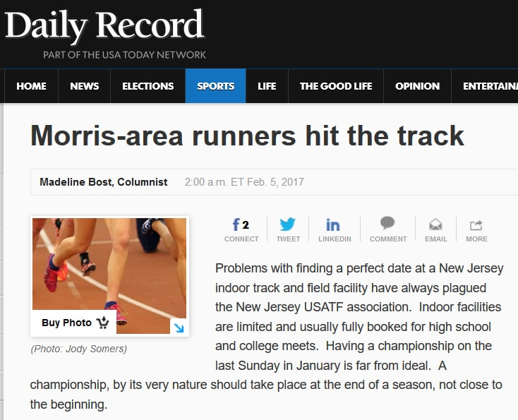Morris-area runners hit the track