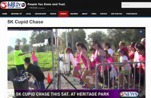 5K Cupid Chase KiiiTV