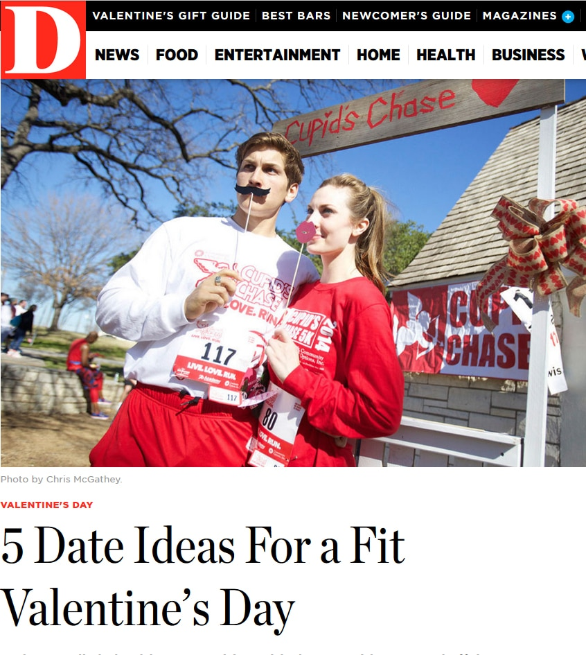 Run for a cause at the Cupid's Chase 5K at Bachman Lake on Feb. 11.