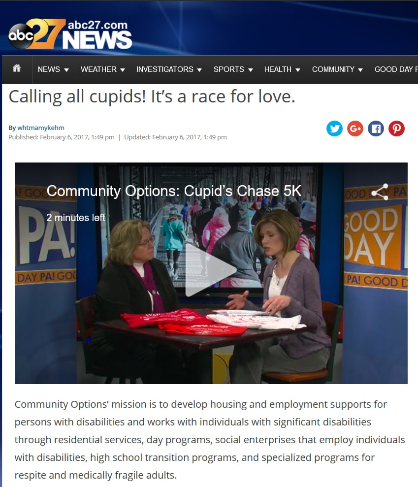 Calling all cupids! It's a race for love.