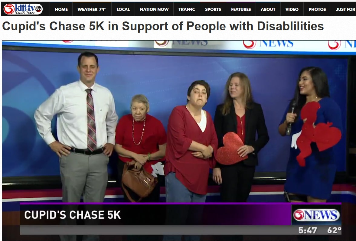 Cupid's Chase 5K in Support of People with Disablilities