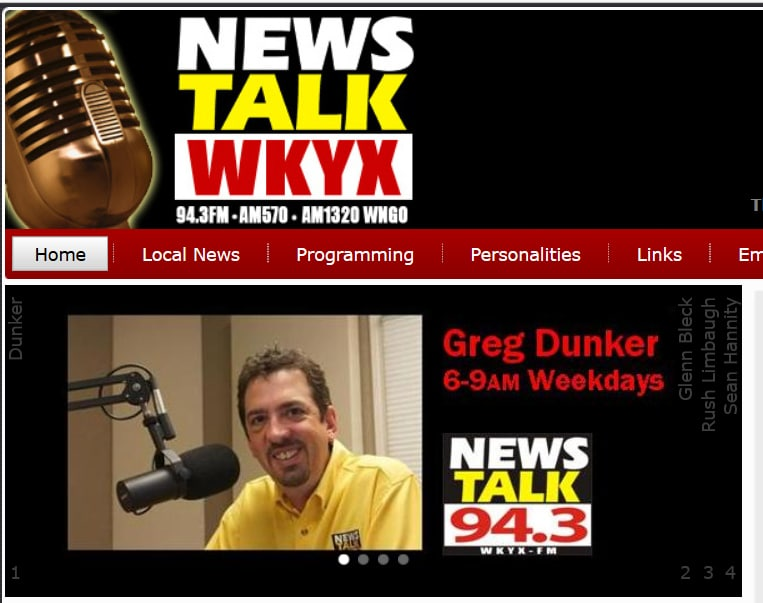Rick Nolan on 94.3 WKYX in Paducah, KY discussing the 2017 Cupid's Chase