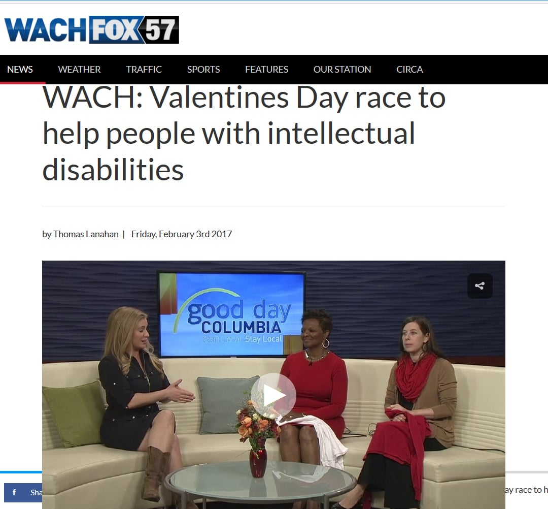 Valentines Day race to help people with intellectual disabilities