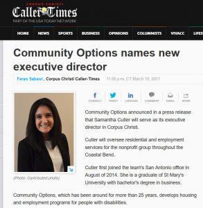 Community Options names new executive director
