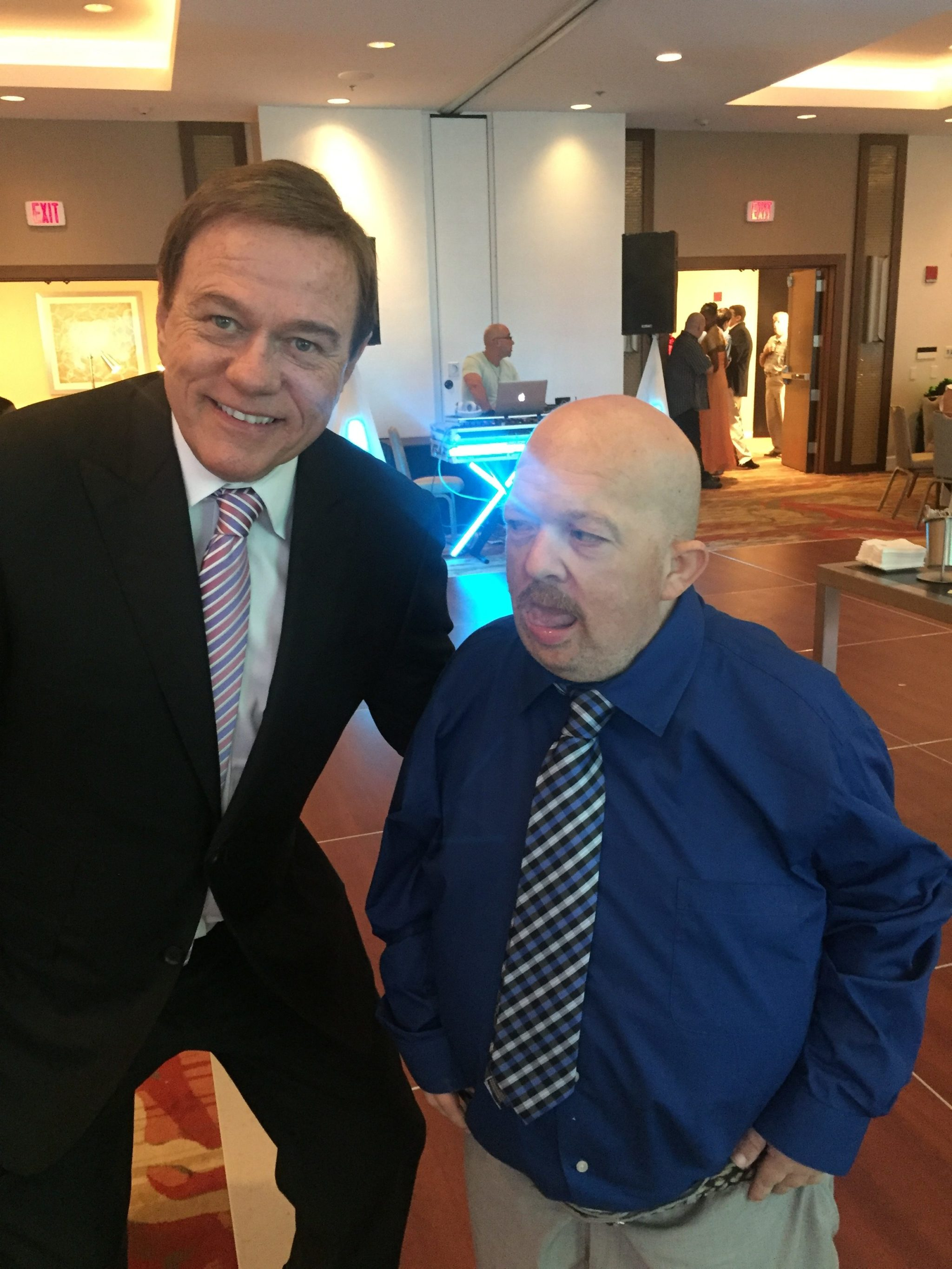Robert Stack, President & CEO of Community Options with Phil. Phil was the first person to move into our Maryland home. Community Options now supports over 60 people in that state.